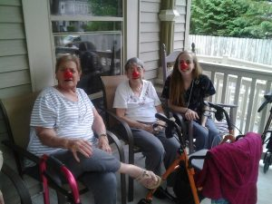 Residents red nose 2